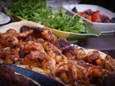 Menu, Barbecue Chicken