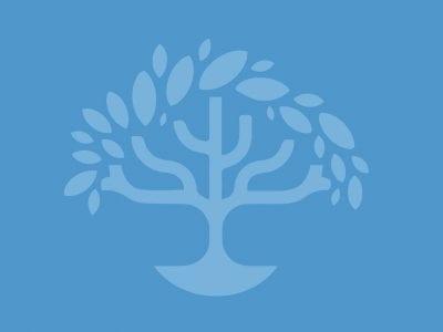 JGS blue tree logo