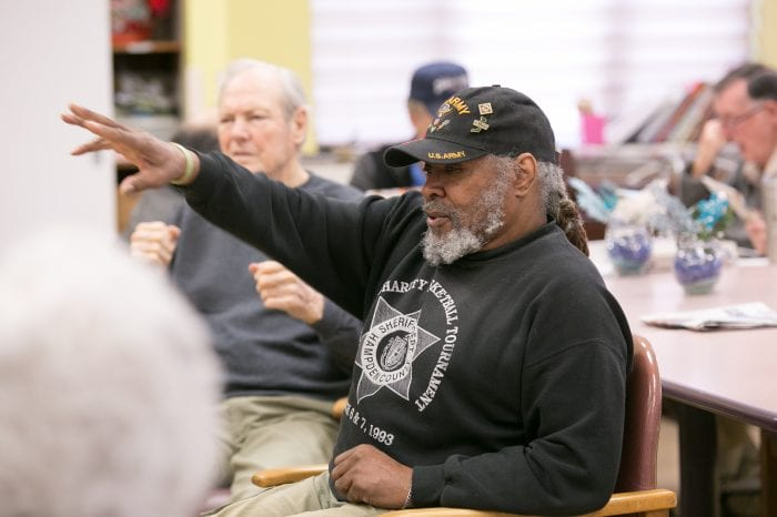 Elders dancing at JGS