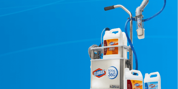 Clorox total 360 cleaning solution