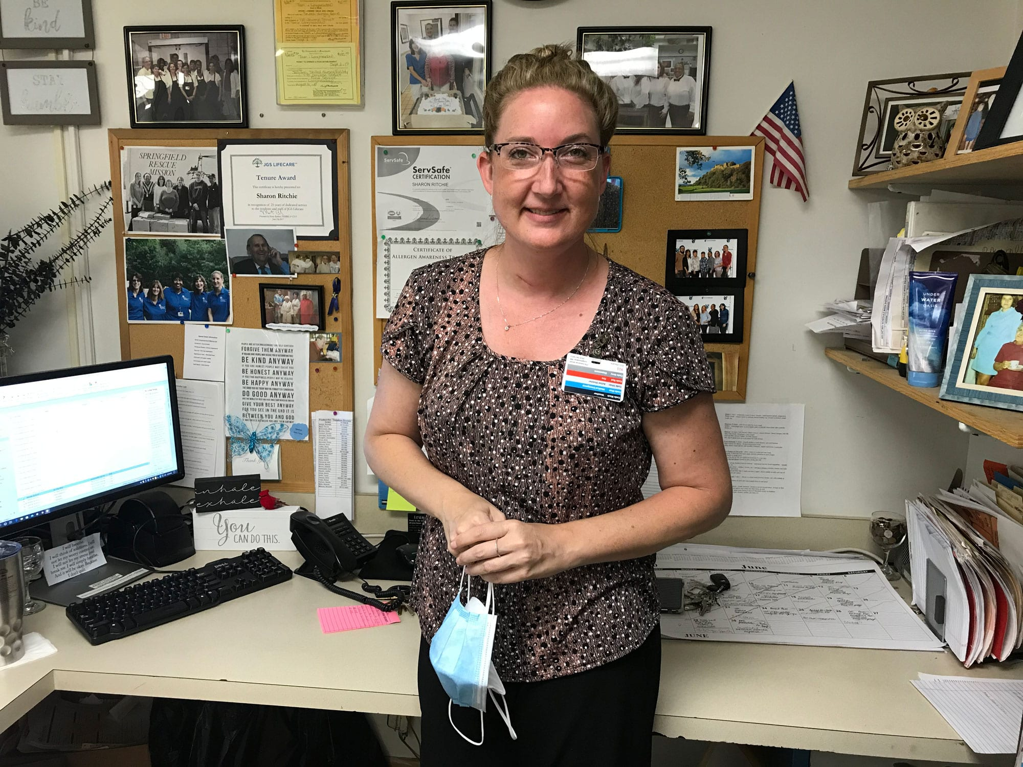 Sharon Ritchie, the Director of Food Service