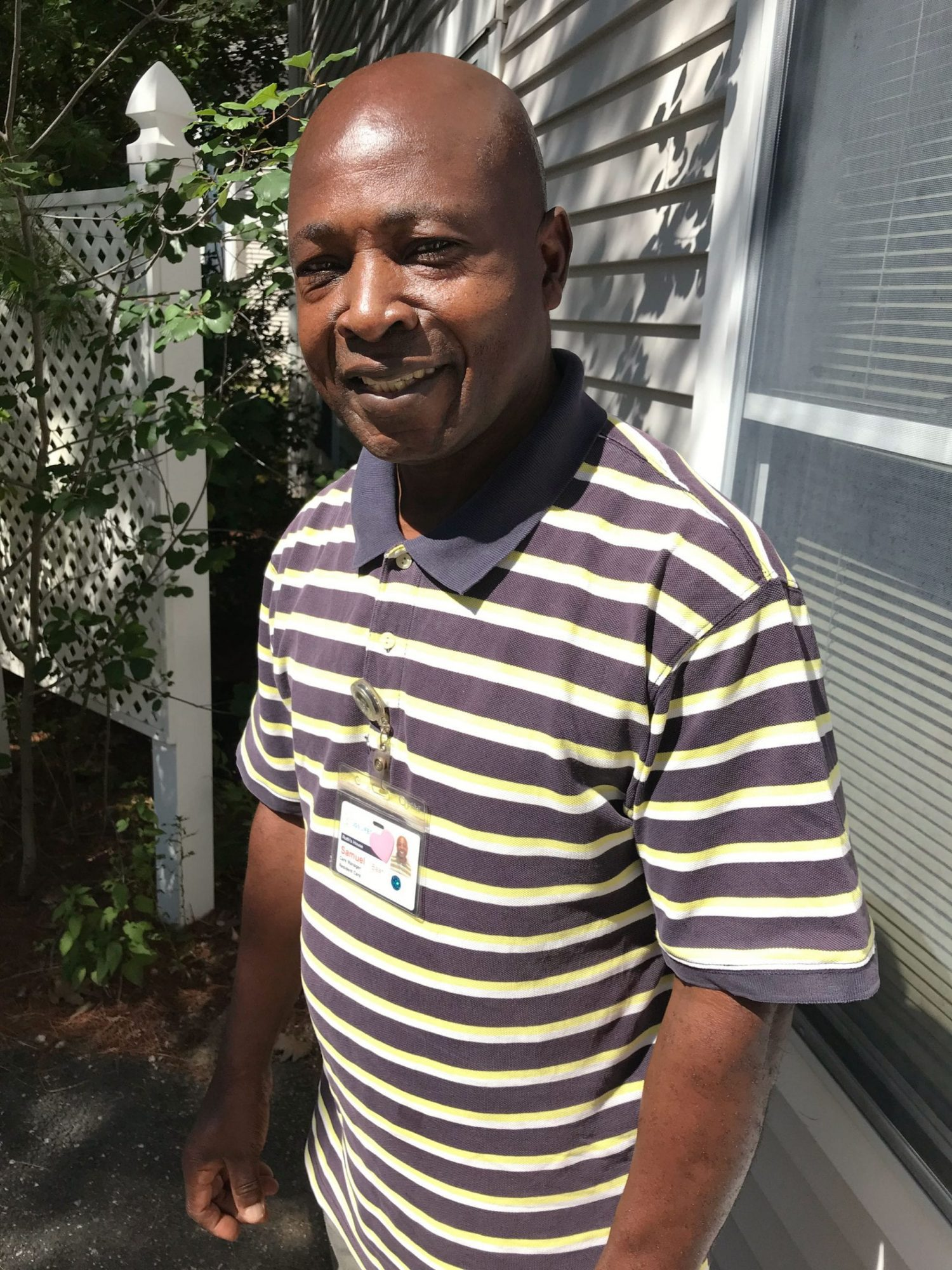 Sam Baah, Care Manager of Ruth's House Assisted Living