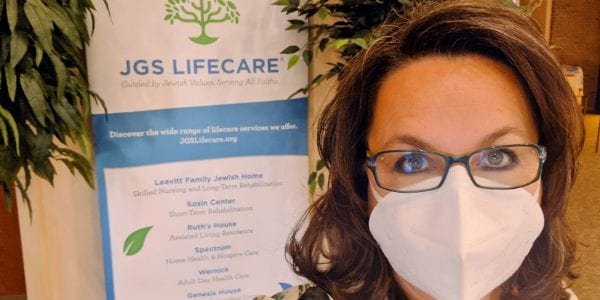 Mary-Anne Schelb, Business Director of JGS Lifecare in Longmeadow, Massachusetts
